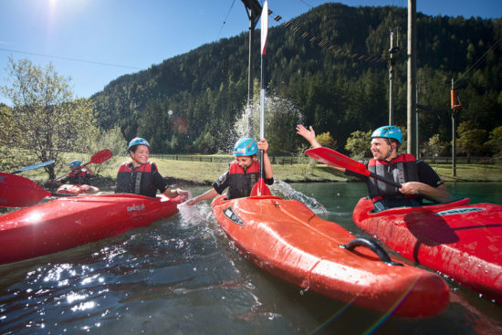 Actionsport im Sommerurlaub in Flachau, Salzburger Land