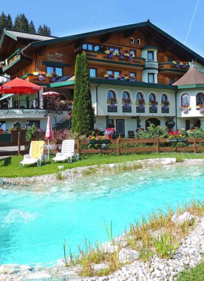 Badeteich - Hotel Santa Barbara in Flachau