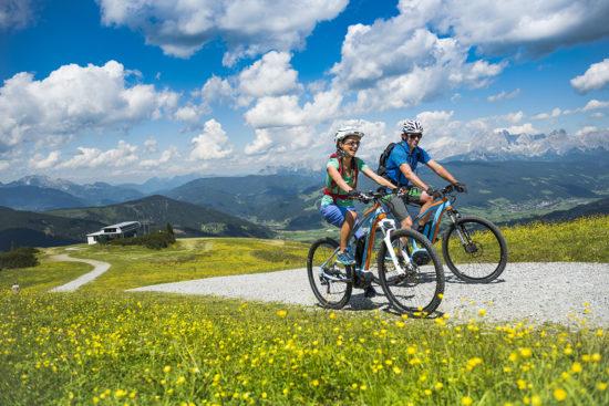 E-Biken im Sommerurlaub in Flachau, Salzburger Land
