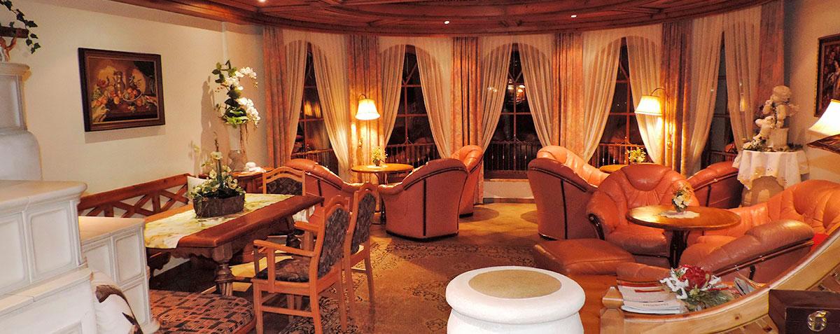 Buchungsinformationen - Hotel Garni Santa Barbara in Liftnähe - Lobby