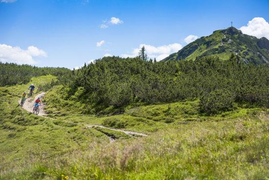 Mountainbiken im Sommerurlaub in Flachau, Salzburger Land