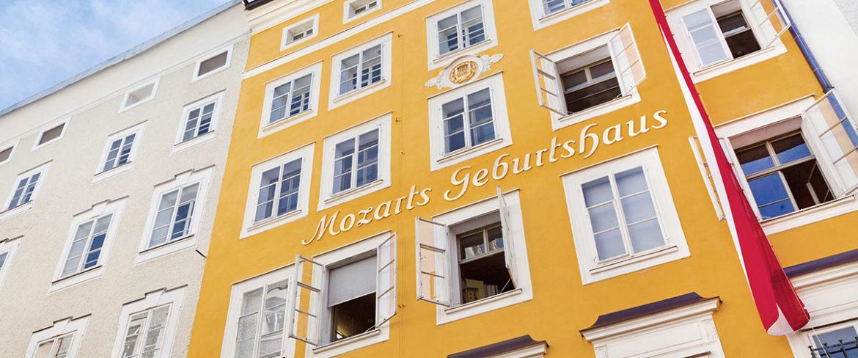 Mozart Geburtshaus - Tagesausflüge in die Stadt Salzburg