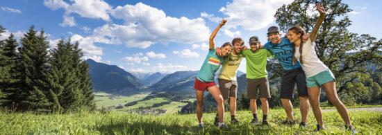 Sommerurlaub in Flachau, Salzburger Land