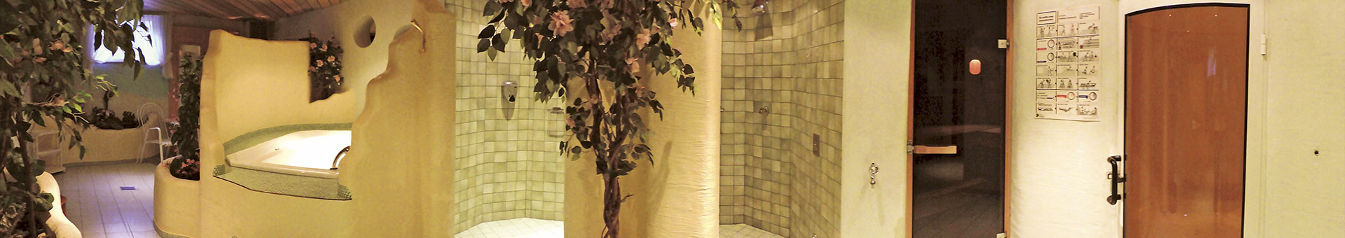 Wellnessbereich im Hotel Garni Santa Barbara