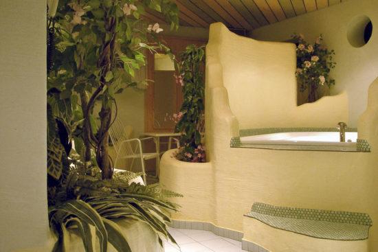 Whirlpool im Hotel Garni Santa Barbara, Flachau
