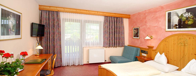 Doppelzimmer Typ II - Hotel Garni Santa Barbara, Flachau