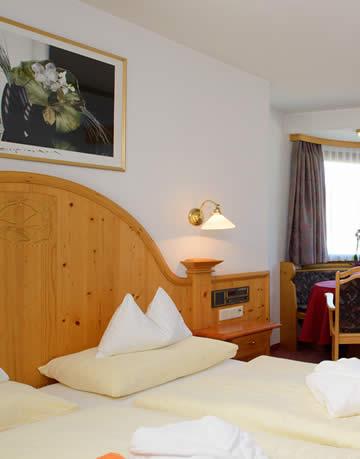 Zimmer - Hotel Santa Barbara in Flachau